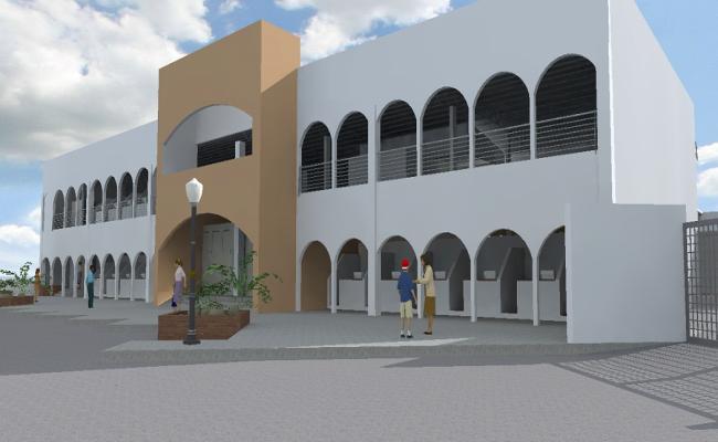 3D Commercial Building Project