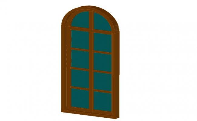 3D Door Design DWG