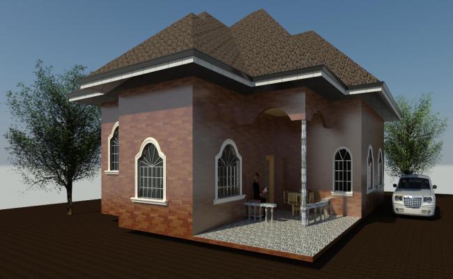 3D HOUSE REVIT