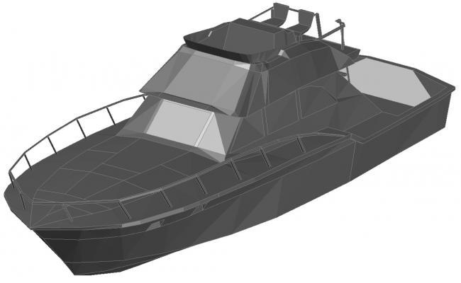 3D Jet Boat