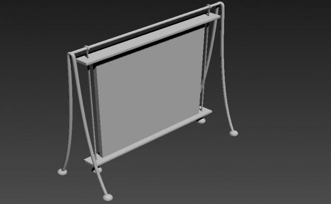 3D MAX File Single Photo Frames Free Download