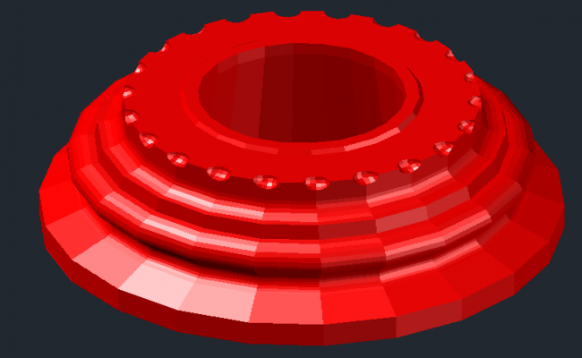 3D Machinery Part