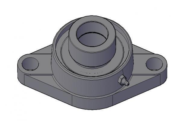 3D Nut Design In AutoCAD File