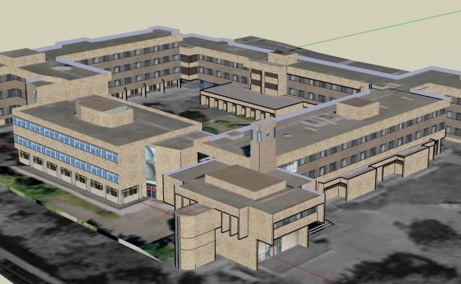 3D University Campus