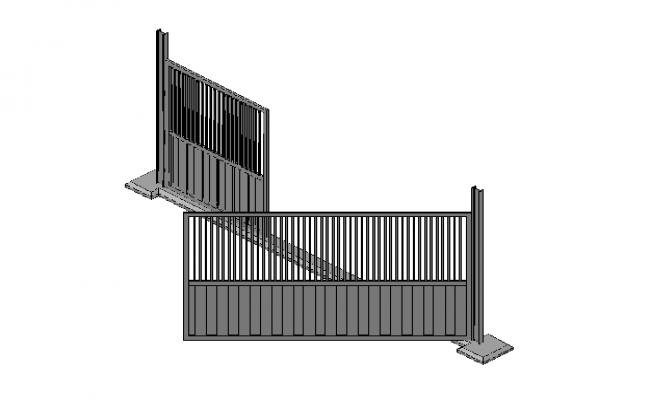 3D details of access Gate