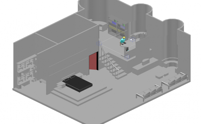 3D drawing of room file