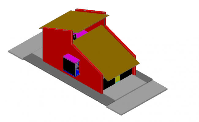 3D elevation of house