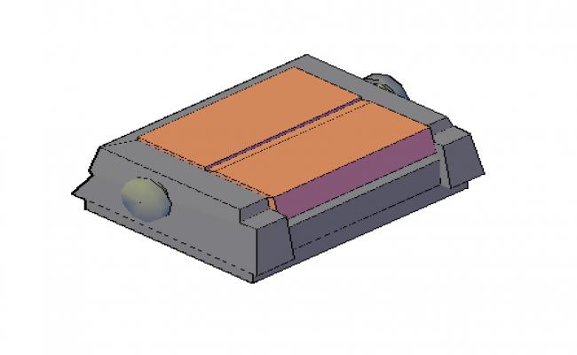 3D machine drawing  design