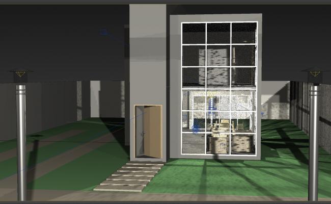 3D max File of banglow