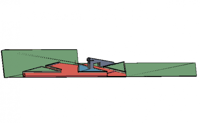 3D view detail dwg file