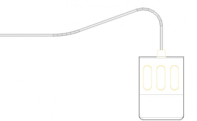 3D view of a socket