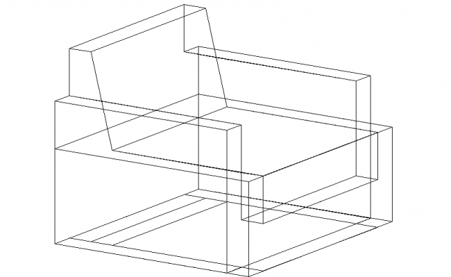 3D view of a sofa-set (3)