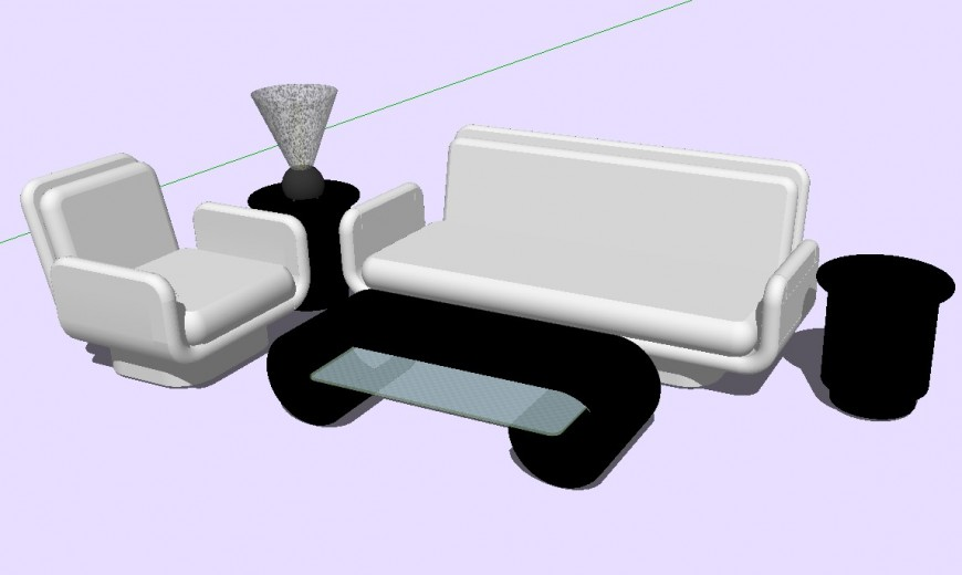 3 d cad drawing of luxury sofa auto cad software