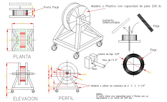 Industrial Equipment Detail