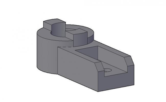 3d CAD Block In DWG File