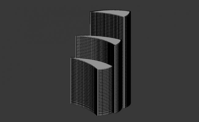 3d Commerce Building Design File