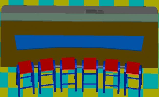 3d Design of Furniture blocks download CAD file