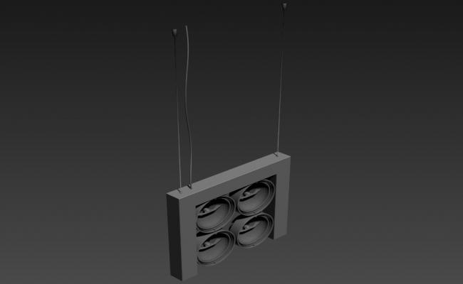 3d Disco Lighting Electrical Block Design Max File Free Download