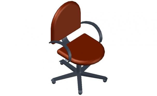 3d Furniture Design of Office Chair