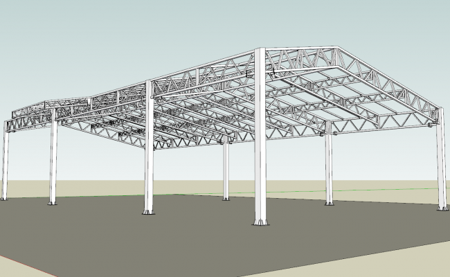 3d Iron Farming Structure design