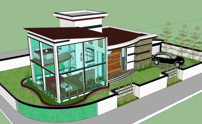 3d Modern House Project
