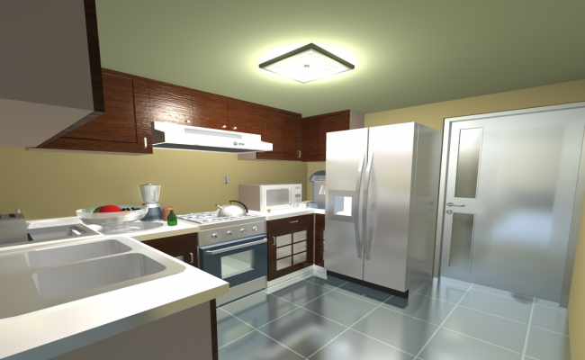 3d Modular Kitchen Project Dwg File