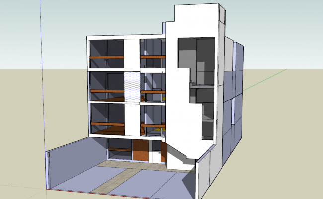 3d Multifamily Building Design