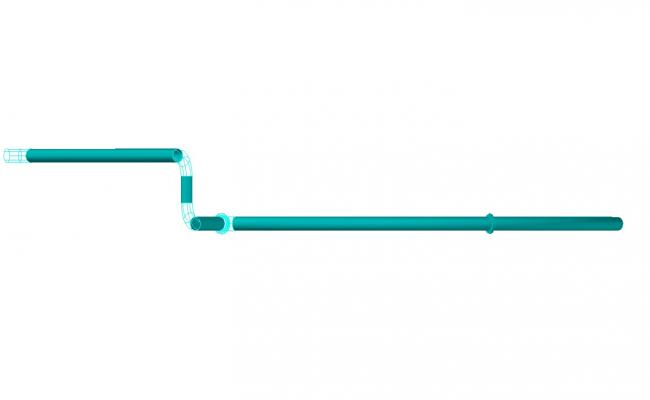 3d Plumbing Pipe DWG File