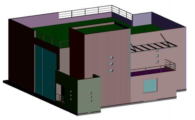 3d Residential House Project