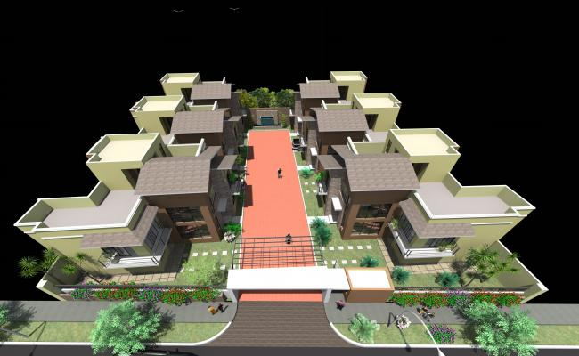3d Residential Township project