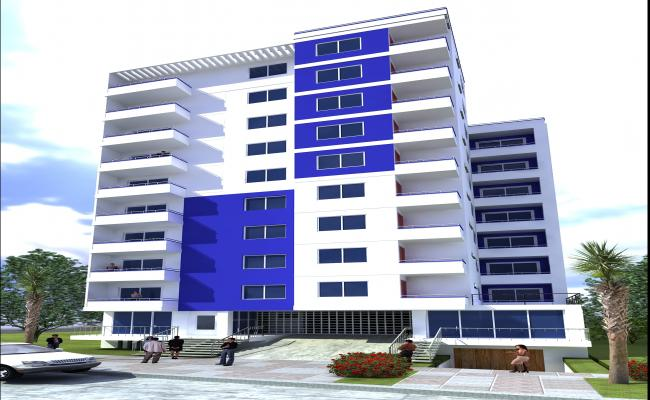 3d Residential project max file.