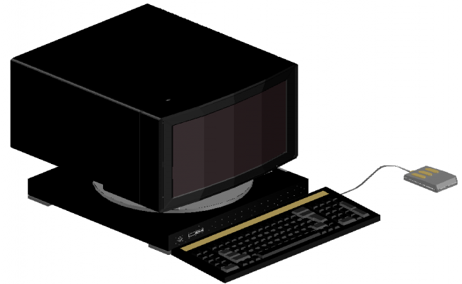 3d computer dwg file
