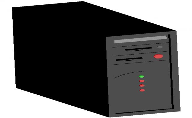 3d cpu dwg file