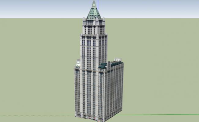 3d design of multi-flooring wool worth building dwg file