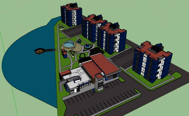 3d design of multi-purpose complex dwg file