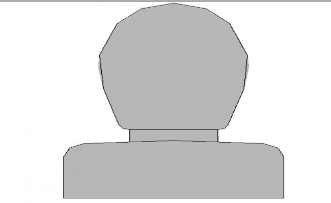 3d design of toilet sheet cad block view dwg file
