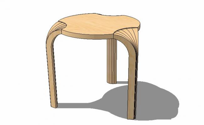 3d drawing of table .3d drawing with detail.
