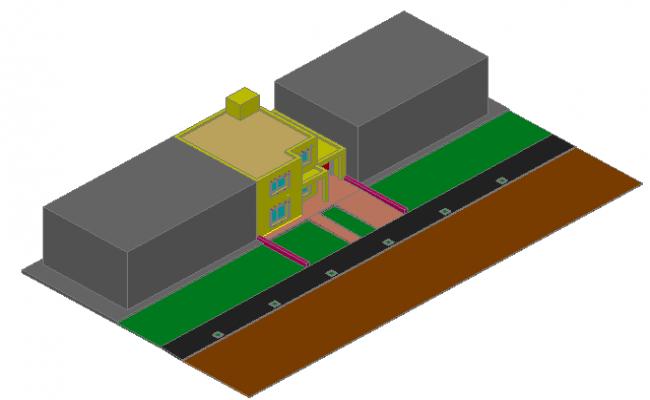 3d housing details