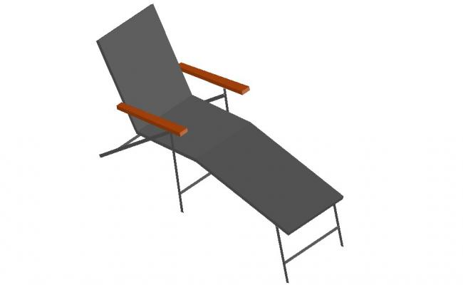 3d model design of Relaxing Chair