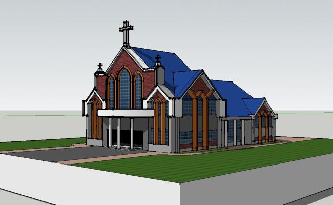 3d of church.