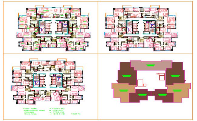 Apartment Plan Design