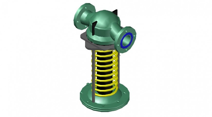 3d model drawings of valve plumbing blocks autocad software file