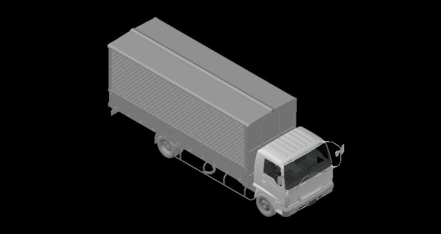 3d model of heavy transportation truck drawings autocad file