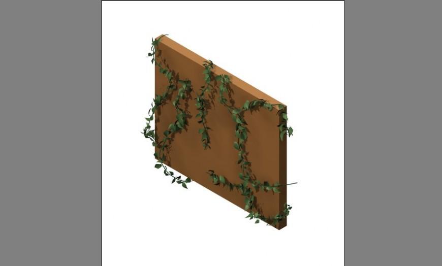 3d model of landscaper shrubs detail 3d max file