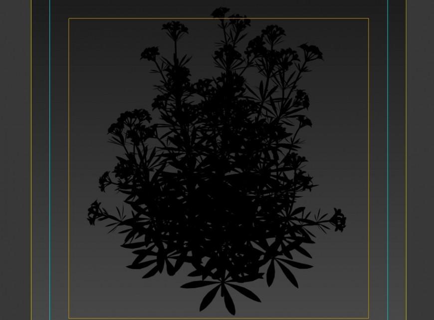 3d model plants layout 3d max file