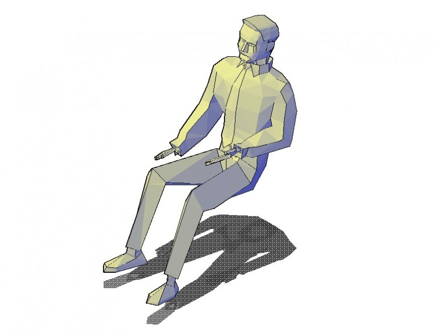 3d Person in dwg file