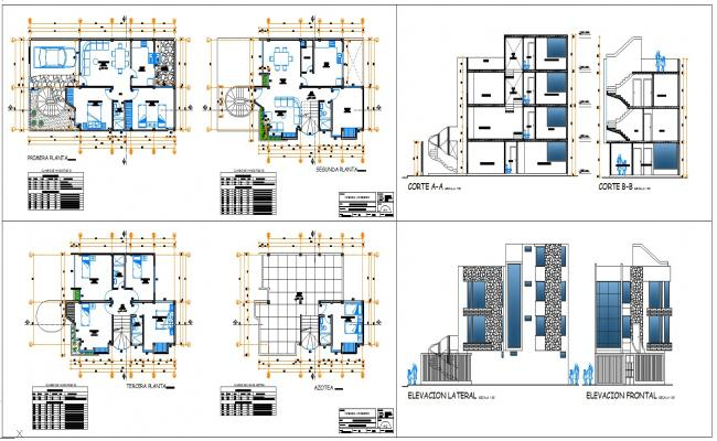 Residential House  Architectural all Design