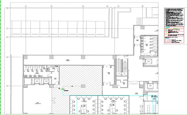 3rd Floor layout plan dwg file