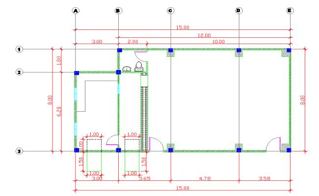 simple room Plan