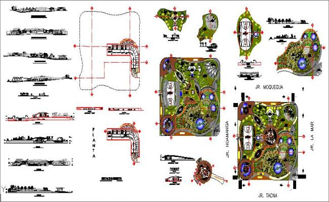 Urban theme park design